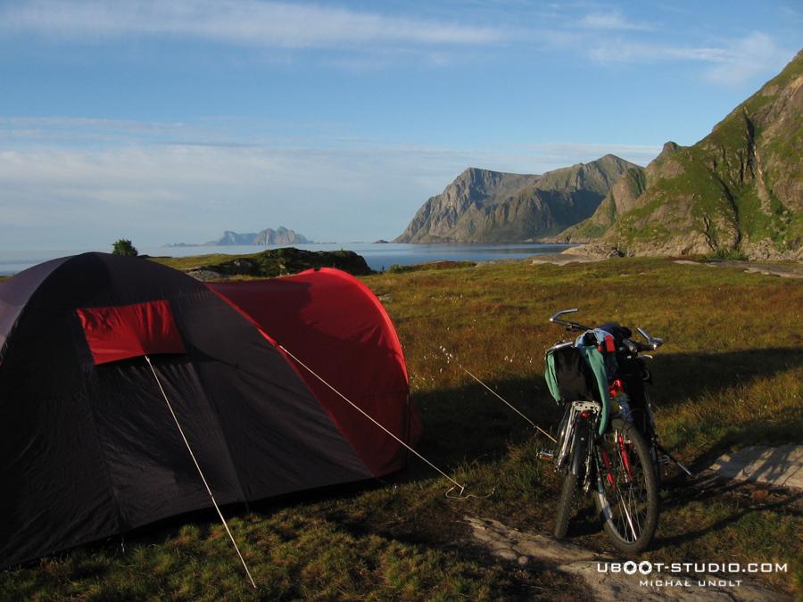 Rowerem przez Norwegię - foto 1 - Lofoty