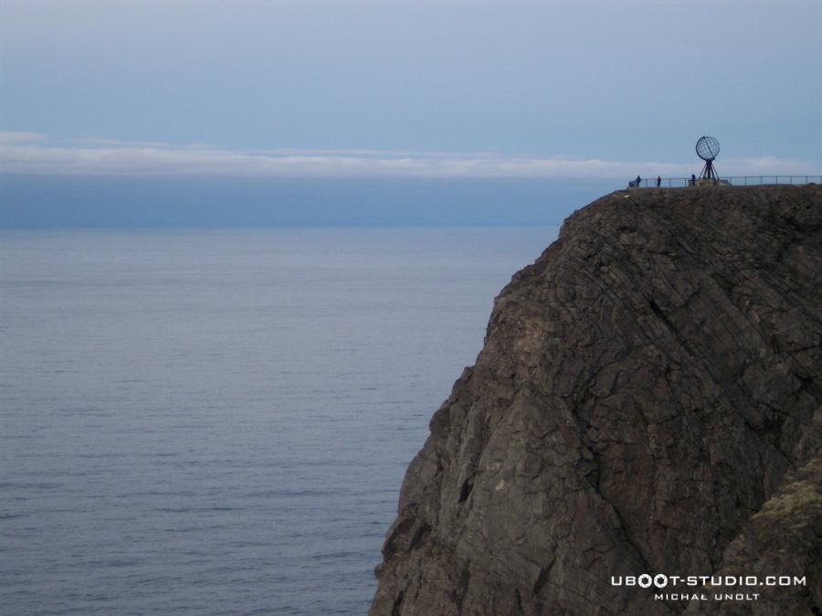 Rowerem przez Norwegię - foto 10 - Nordkapp